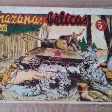 Tebeos: HAZAÑAS BELICAS , TOMO Nº VOL. 6 - TORAY - TA. Lote 53602541