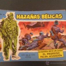 Tebeos: LOTE DE HAZAÑAS BELICAS AZULES.. Lote 53609770