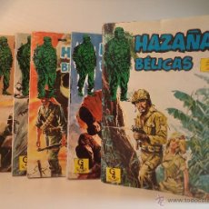 BDs: LOTE NOVELAS GRÁFICAS DE HAZAÑAS BÉLICAS Nº 1-4-5-6-7. G4 EDICIONES. EDICIONES TORAY. Lote 53643771