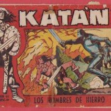 Tebeos - KATÁN Nº204 LOS HOMBRES DE HIERRO SELECCIÓN AVENTURAS ED.TORAY REVISTA PARA LOS JÓVENES 1958 10 PÁG. - 53802986