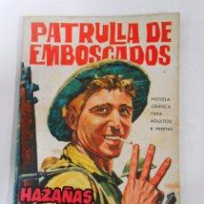 Tebeos: HAZAÑAS BELICAS Nº 60 PATRULLA DE EMBOSCADOS. TDKC13. Lote 53855936