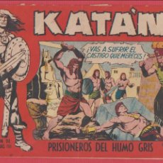 Comics - KATÁN Nº 220 PRISIONEROS DEL HUMO GRIS SELECC. AVENTURAS ED.TORAY REVISTA PARA JÓVENES 1958 10 PÁG. - 53881239