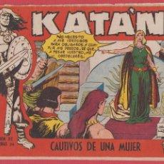Comics - KATÁN Nº 246 CAUTIVOS DE UNA MUJER SELECCIÓN AVENTURAS ED.TORAY REVISTA PARA JÓVENES 1958 10 PÁG. - 53905656
