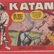 Tebeos: KATÁN Nº 248 ARINGA LA TRIUNFADORA SELECCIÓN AVENTURAS ED.TORAY REVISTA PARA JÓVENES 1958 10 PÁG.. Lote 108684740