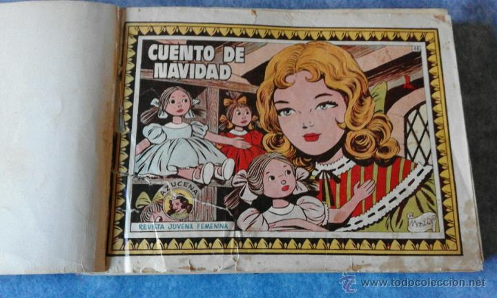 Tebeos: COMICS REVISTA JUVENIL FEMENINA COLECCIÓN AZUCENA, GRACIELA, SUSANA... AÑO 1958. ENCUADERNADOS. - Foto 2 - 54078592