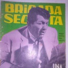 Tebeos: BRIGADA SECRETA-Nº 75-1964-UNA BALA PERDIDA-EL GRAN ARMANDO SÁNCHEZ-BUENO-LEAN-5205. Lote 96038734