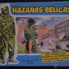 Tebeos: HAZAÑAS BELICAS, EXTRA AZUL, Nº 54. BOIXCAR. LITERACOMIC.. Lote 54100292