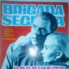 Tebeos: BRIGADA SECRETA- Nº 105 -1965-CORRIENTE MORTAL-GRAN LOUIS G. MILK-CORRECTO ESTADO-LEAN-8621. Lote 120059642