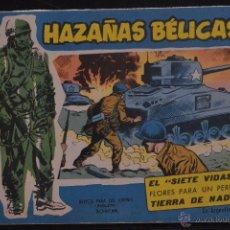 Tebeos: HAZAÑAS BELICAS, EXTRA AZUL, Nº 134. BOIXCAR. LITERACOMIC.. Lote 54169840