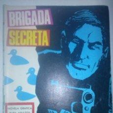 Tebeos: BRIGADA SECRETA Nº 185-EL MISTERIO DE LOS PATOS-1967-GRAN JAVIER RUMEU-BUENO-MUY DIFÍCIL-5257. Lote 96038818