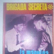 Tebeos: BRIGADA SECRETA Nº 190-LA MÁQUINA TRAGAPERRAS-1967-GRAN JORGE BADÍA-BUENO-MUY DIFÍCIL-5260. Lote 96038964
