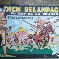 Tebeos: DICK RELAMPAGO - COMPLETA DE 28 NºS - ORIGINAL Y SUELTA- TORAY- GA. Lote 54431685