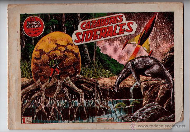 Nº 11 EL MUNDO FUTURO, EDICIONES TORAY, BARCELONA 1955. CUADERNOS ORIGINALES (Tebeos y Comics - Toray - Mundo Futuro)