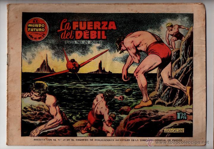 Nº 59 EL MUNDO FUTURO, EDICIONES TORAY, BARCELONA 1955. CUADERNOS ORIGINALES (Tebeos y Comics - Toray - Mundo Futuro)