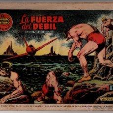 Tebeos: Nº 59 EL MUNDO FUTURO, EDICIONES TORAY, BARCELONA 1955. CUADERNOS ORIGINALES. Lote 54509409