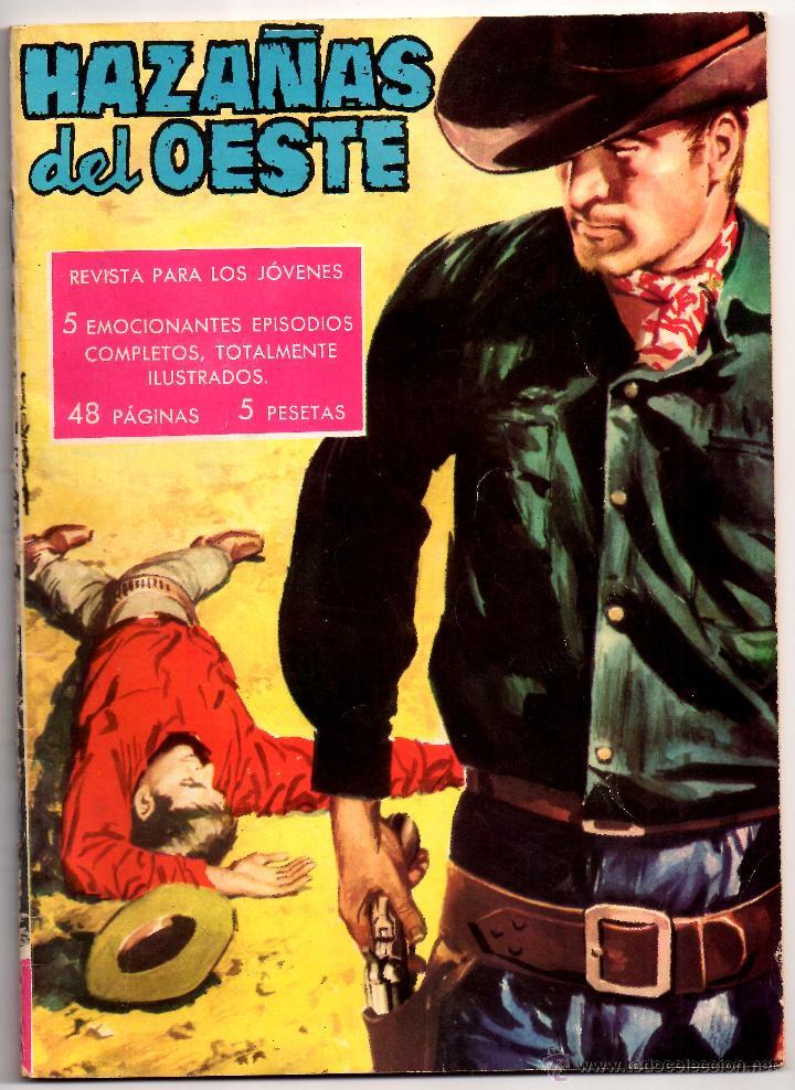 Nº 7 HAZAÑAS DEL OESTE. EDICIONES TORAY,S.A. BARCELONA 1962-1971 (Tebeos y Comics - Toray - Hazañas del Oeste)