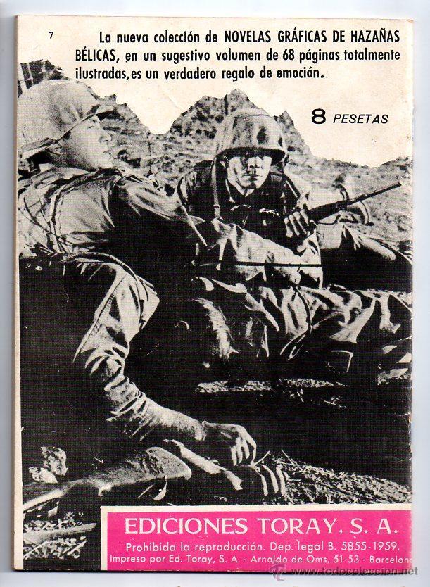 Tebeos: Nº 7 hazañas del oeste. ediciones toray,s.a. barcelona 1962-1971 - Foto 2 - 54532571