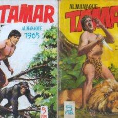 Tebeos: TAMAR ORIGINALES ALMANAQUES AÑOS 1964 - 1965 EDI. TORAY. Lote 54582306