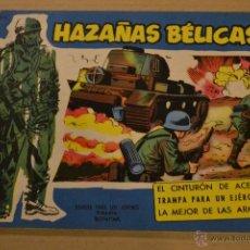 Tebeos: HAZAÑAS BELICAS, EXTRA AZUL, Nº 135. BOIXCAR. LITERACOMIC.. Lote 54672607