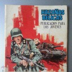 Tebeos: HAZAÑAS BELICAS Nº 172 COLOREADO AZUL TORAY 1968 SOTILLOS HUESCAR HA LLEGADO UN SARGENTO. Lote 54724184
