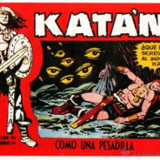 Tebeos: KATAN ORIGINAL Nº 14 EDITORIAL TORAY 1958 POR BROCAL REMOHI. Lote 54757108
