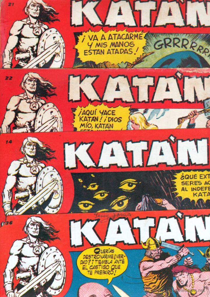 Tebeos: KATAN ORIGINALES NºS - 14-21-22-36 EDITORIAL TORAY 1958 por BROCAL REMOHI - Foto 1 - 54758284