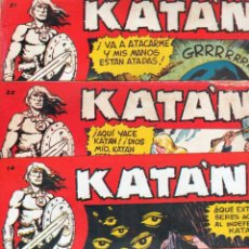 Tebeos: KATAN ORIGINALES NºS - 14-21-22-36 EDITORIAL TORAY 1958 POR BROCAL REMOHI. Lote 54758284
