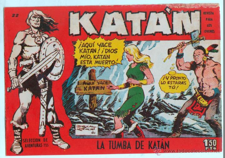 Tebeos: KATAN ORIGINALES NºS - 14-21-22-36 EDITORIAL TORAY 1958 por BROCAL REMOHI - Foto 5 - 54758284