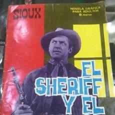 Tebeos: EL SHERIFF Y EL PISTOLERO -- SIOUX -- ED. TORAY -- 1966. Lote 54776052
