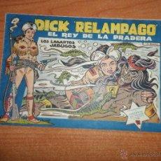Tebeos: DICK RELAMPAGO Nº 28 ORIGINAL EDITORIAL TORAY ULTIMO NUMERO DIFICIL. Lote 54810923