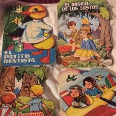 Tebeos: LOTE DE 4 CUENTOS TROQUELADOS, TORAY. Lote 54848896