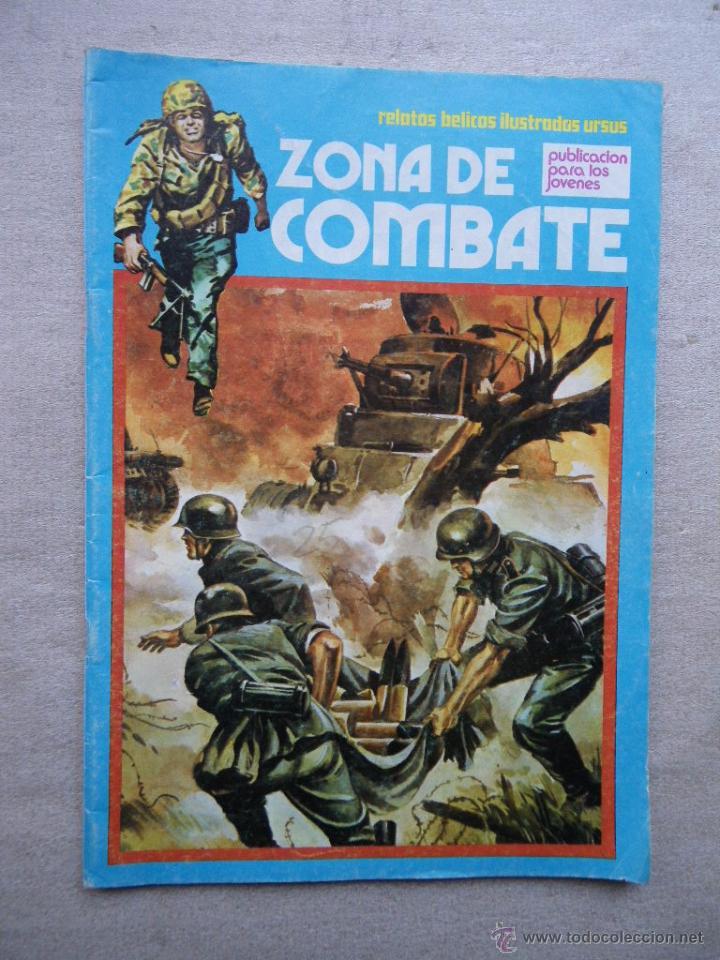 ZONA DE COMBATE Nº 64 URSUS TORAY 1973 (Tebeos y Comics - Toray - Hazañas Bélicas)