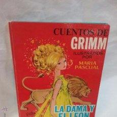Tebeos: CUENTOS DE GRIMM - LA DAMA Y EL LEON - POR MARIA PASCUAL - TORAY - AÑO 1973. Lote 54997338