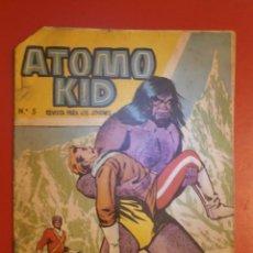 Tebeos: COMIC - ATOMO KID - Nº5 - LOS HOMBRES DE LAS NIEVES - ORIGINAL 1957 - EDICIONES TORAY . Lote 128963100