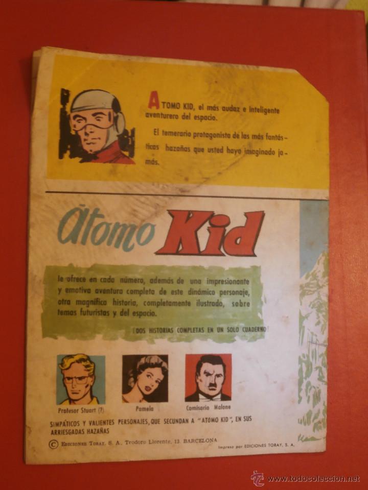 Tebeos: Comic - ATOMO KID - Nº5 - Los hombres de las nieves - ORIGINAL 1957 - Ediciones Toray - Foto 2 - 128963100