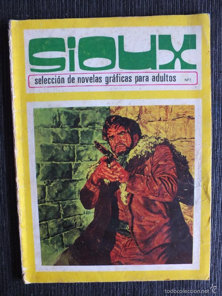 SIOUX Nº 2 EDICIONES TORAY (Tebeos y Comics - Toray - Sioux)