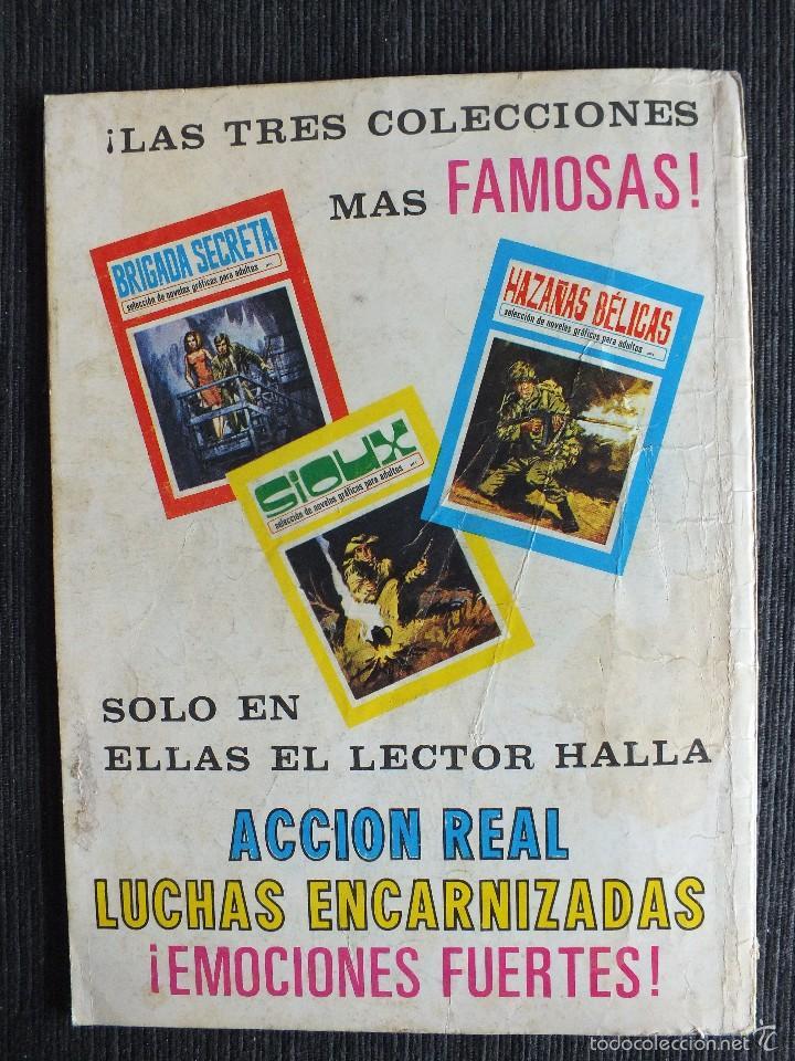 Tebeos: SIOUX Nº 2 EDICIONES TORAY - Foto 2 - 55134273