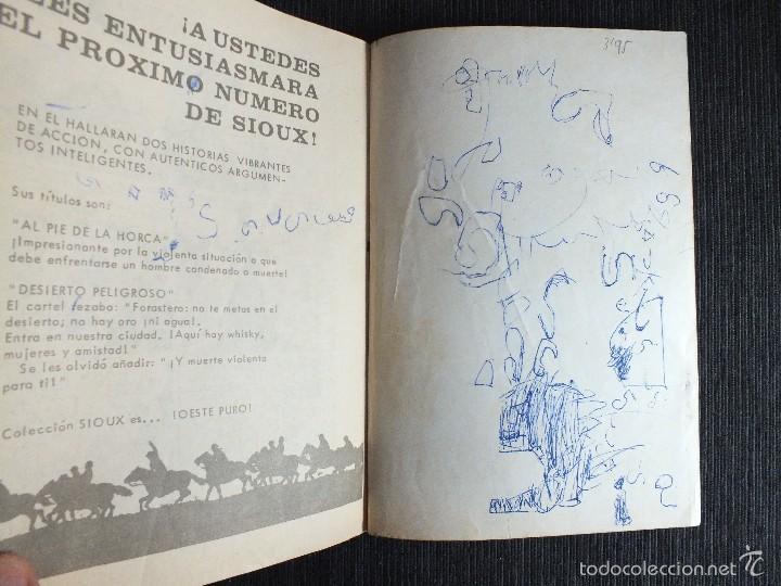 Tebeos: SIOUX Nº 2 EDICIONES TORAY - Foto 3 - 55134273