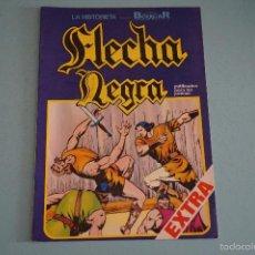 Tebeos: CÓMIC DE FLECHA NEGRA TAUROK EL FEROZ Nº 6 AÑO 1982 DE EDICIONES URSUS LOTE 10. Lote 55335709