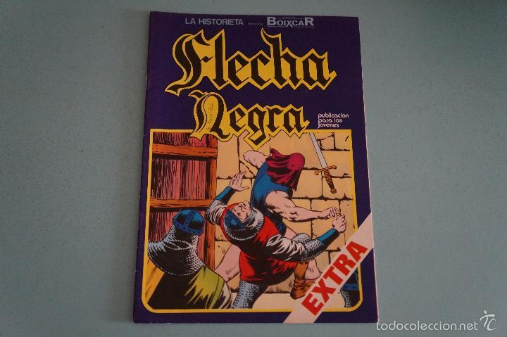 CÓMIC DE FLECHA NEGRA FUGA AUDAZ Nº 5 AÑO 1982 DE EDICIONES URSUS LOTE 13 B (Tebeos y Comics - Toray - Flecha Negra)