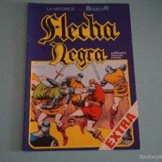 Tebeos: CÓMIC DE FLECHA NEGRA MOTIN A BORDO Nº 7 AÑO 1982 DE EDICIONES URSUS LOTE 10. Lote 55335866