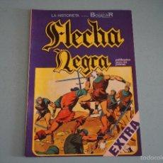 Tebeos: CÓMIC DE FLECHA NEGRA COLOSOS EN LA LUCHA Nº 10 AÑO 1982 DE EDICIONES URSUS LOTE 10. Lote 55335886