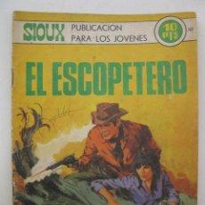 Tebeos: SIOUX - Nº 163 - EL ESCOPETERO - EDICIONES TORAY - AÑO 1970.. Lote 55712744