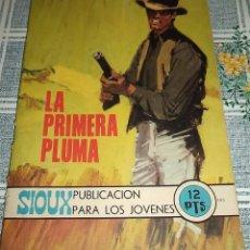 Tebeos: SIOUX Nº 183 LA PRIMERA PLUMA TORAY 1971. Lote 60913542