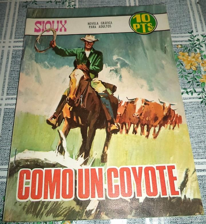 SIOUX Nº 94 COMO UN COYOTE TORAY 1967 (Tebeos y Comics - Toray - Sioux)
