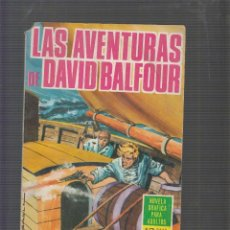 Tebeos: NOVELAS GRAFICAS Nº 36 LAS AVENTURAS DE DAVID BALFOUR -ED. EDICIONES TORAY. Lote 55825524