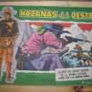 Tebeos: HAZAÑAS DEL OESTE, LA BODA SHERIFF GORDON,DE LA MISMA ESTIPE Nº33-BOIXCAR-EDC: TORAY-ORIGINAL. Lote 55900576