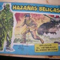 Tebeos: HAZAÑAS BÉLICAS, Nº VOL 60 POR: BOIXCAR-EDC: TORAY-ORIGINAL,AÑO 1959. Lote 55901087