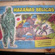 Tebeos: HAZAÑAS BÉLICAS, Nº EXTRA 264 POR: BOIXCAR-EDC: TORAY-ORIGINAL,AÑO 1958. Lote 55901472