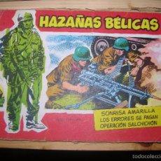 Tebeos: HAZAÑAS BÉLICAS, Nº7 SERIE ESPECIAL POR: BOIXCAR-EDC: TORAY-ORIGINAL,AÑO 1958. Lote 55902552